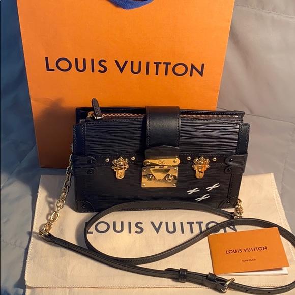 Louis Vuitton Trunk Clutch Handbag  M53052